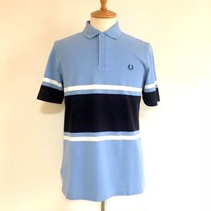 Bold Fine Stripe Pique Shirts Sky