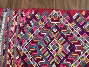 ラオス アンティーク 染織り布