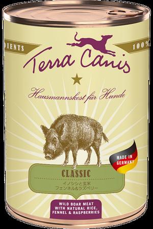 Terra Canis   クラシック イノシシ(玄米入り)