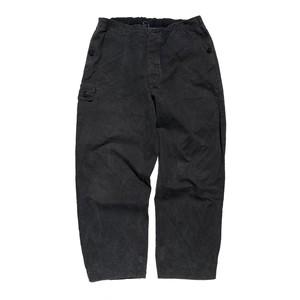 USED 80's East German Army cargo pants - black