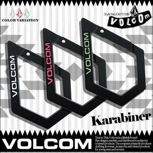 D67319JB ボルコム Volcom Karabiner キーホルダー 人気ブランド VOLCOM 入学 就職 プレゼント カラビナ メンズ おしゃれ