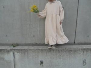 puff long dress