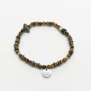 amp japan/Round Tiger eye Bracelet