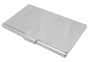 鏡面薄型カードケース 名刺入れ シルバー SA-P727