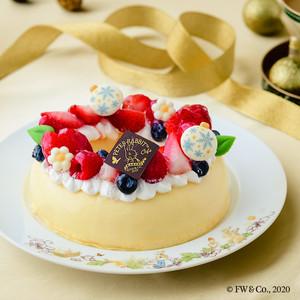 予約販売【12/19-26お届け】ピーターラビット™のクリスマスリースケーキ