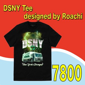 DSNY Tee designed by Roachi