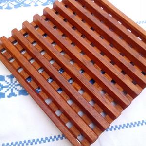 デザインデンマーク 木の鍋敷き 大 北欧ヴィンテージ