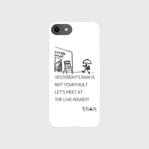 iPhone6/6s/7/8対応【than / LET'S MEET AT THE LIVE HOUSE!!!】than original phone case
