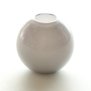 Balloon vase  -smoke gray-