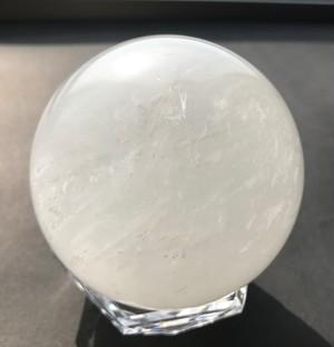 天然水晶 直径80mm【送料込み】
