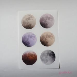 月面 耐水透明シール