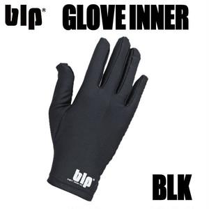 blp グローブインナー ブラック 両手セット ラッシュガード素材