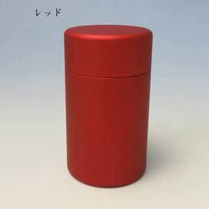ミニ骨壷With(ウィズ)35 直径35mm×高60mm レッド【日本製】