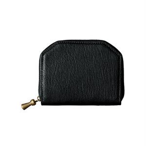 ポスタルコ ケトル ジッパー ウォレット Kettle Zipper Wallet Small Black Postalco