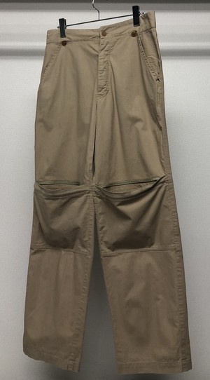 1990s KNEE POCKET TROUSERS