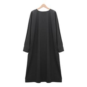 MidiUmi ミディウミ/ クルーネックワイドワンピース【 1-757961】