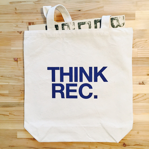 THINKREC. tote bag