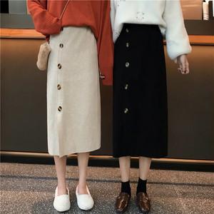 サイドスリットロングスカート 1250