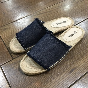 SOLUDOS ソルドス Slide Espadrille (Color Navy)