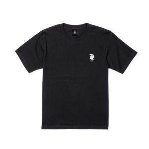 QTロゴ(NEW) 半袖 黒