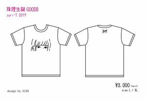 【SALE】珠理生誕 Tシャツ juri-T 2019