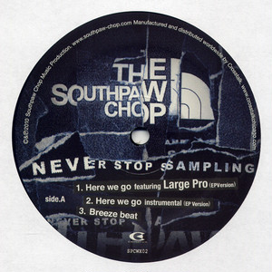 Never Stop Sampling 12Inch Vinyl