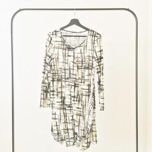 Vintage Plaid Dress 65502