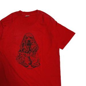 90's USA製 犬 Tシャツ