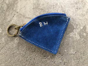 Button Works ボタンワークス Suede Coin Case