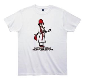 《山本周司Tシャツ》TY040/ PANTMIME WOMAN