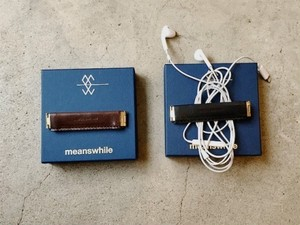 meanwhile   Wax Leather Utility Clip