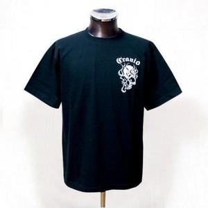 CR001 BK-WH 髑髏Tシャツ