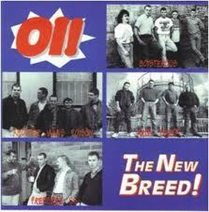 V.A - Oi! THE NEW BREED CD