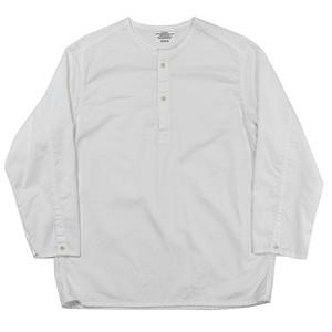 WORKERS / Sleeping Shirt White Twill