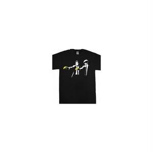 パルプ・フィクション Pulp Fiction ヴィンセント&ジュールス プリント Tシャツ