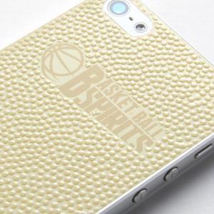 バスケットボールスピリッツ iPhone(5/5S)用背面デザインシール(BBS Logo mark Gold)