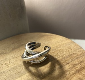 silver925 3連重ね風シルバーリング