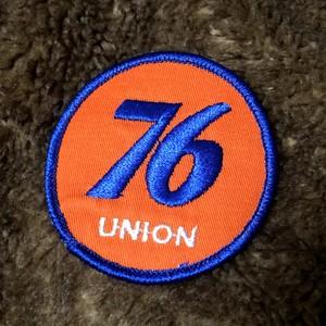 70's 76 UNION Vintage Patch セブンティシックス フィリップス66 ユノカル社 ビンテージ gasoline ガソリンスタンド テキサス オーバル