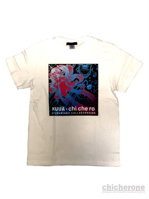 【chi che ro】空亜 x syuramiaru collaboration 2018 T/S WHT
