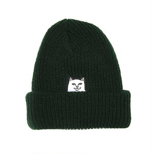 RIPNDIP - Lord Nermal Ribbed Beanie (Forest)