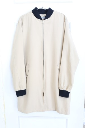 【MEN】 MA-1 Beige Long Coat