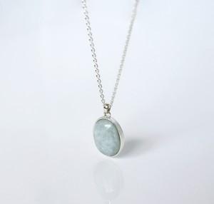 HISUI 'EN'  / Necklace (Greyish Lavender)