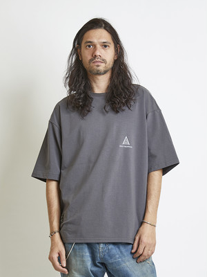 EGO TRIPPING (エゴトリッピング) RUNNUP TEE / CHARCOAL 663856-04