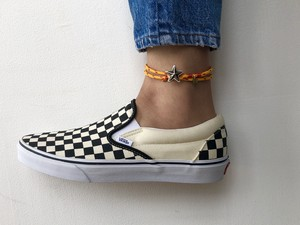 Button Works USA ボタンワークス U.S.A. Star Concho Anklet