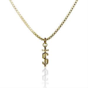EL SENOR / 'S-CROSS' PENDANT - Gold Plated