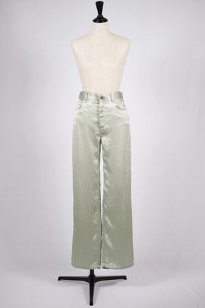 【SAYAKADAVIS】straight pants-sage