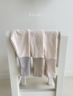【予約販売】chewy leggings〈Aosta〉