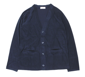"EACHTIME. ""Pile Cardigan"" Navy"
