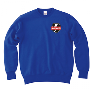 avenomix / THUNDER EMBLEM CREWNECK SWEAT ROYAL
