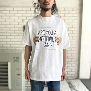 "USED ""ARE YOU ... FAN?"" TEE"